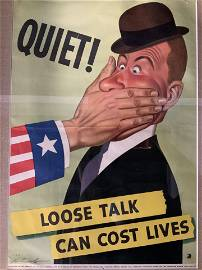 Dal Holcomb Authentic Vintage WWII Propaganda Ad