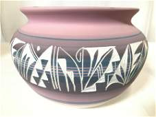 Vintage Tribal Style Pottery Vase