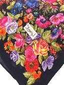 Lot 2 Ladies Fashion Scarves, Luxury YSL