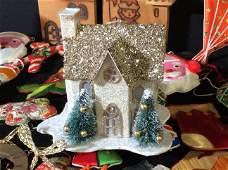 Large lot Vintage Christmas Ornaments