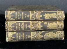 Set of 3 Antique Books JH MERLE DAUBIGN