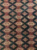 Vintage Caucasian Handmade Wool Rug