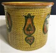 Hand Painted Italian Ceramics Planter