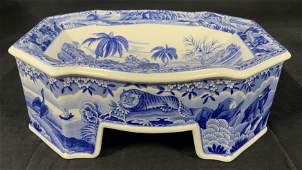 Spode Lm Ed Indian Sporting Footed Vessel, England