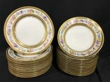 SET22 Vintage LIMOGES Decorative Plates  Bowls