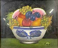 PETRA HAAS Signed Still Life Oil Painting 1989