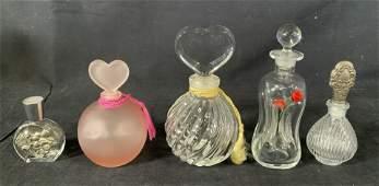 Vintage Art Glass Perfume Bottles