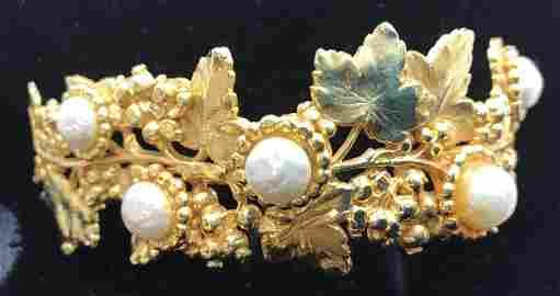 DOMINIQUE AURIENTIS PARIS Shoulder Pin, Jewelry