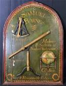 Vintage SAMUEL BARNES Nautical Sign