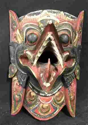 Balinese Wooden Figural of Rangda