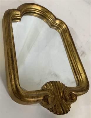 Carved Gilt Wood Italian Mirror