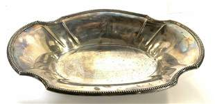 CHRISTOFFLE, French Silver Pl Serving Dish,C1920