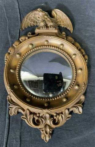 SYROCO Federal Style Rounded Mirror