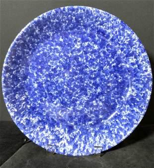 ITALCERAMICA Splatterware Ceramic Centerpiece Bowl