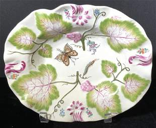 Signed Hand Painted Porcelain Bowl, Italy