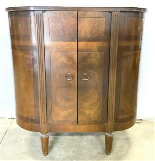 RCA VICTOR Vintage Wooden Radio In Cabinet