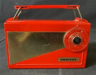 Vintage 1960's HARPERS GK-301 Personal Radio