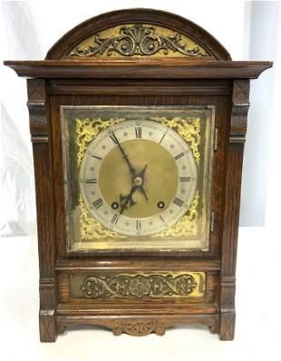 Vintage Wooden Mantle Clock