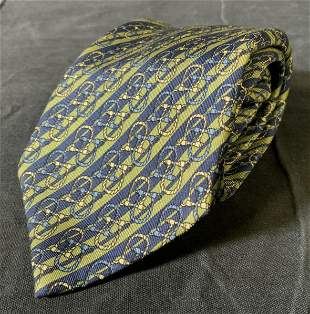 HERMÈS Silk Men's Tie