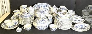 Set 100 ZWEBELMUSTER BLUE ONION Porcelain