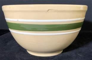 WATT Signed Vintage Ceramic Ovenware Yellow Bowl