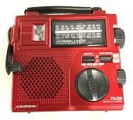 Collect GRUNDIG EMERGENCY RADIO Fr200 W/ Box