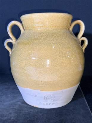Vntg Ethan Allen ROWE POTTERY WORKS Ceramic Vessel