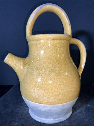 Vntg ROWE POTTERY WORKS Spouted Ceramic Vessel