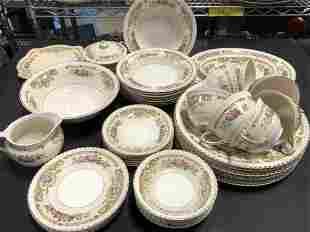 Old English Johnson Bros Partial Dinnerware Set 43