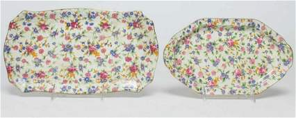 Royal Winton English Porcelain Trays, 2