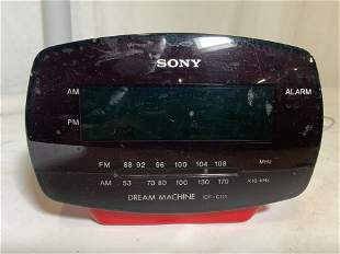 SONY DREAM MACHINE ICF C111 Alarm Clock