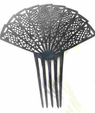 Spanish FLAMENCO Ornamental Fan Hair Comb
