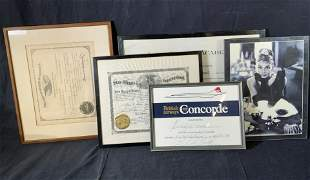 Lot 5 Wooden & Composite Picture Frames