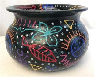 Vintage 1994 Pottery Art Vessel W Studio Label