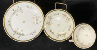Lot 12 Vintage Porcelain Teacups & Plates