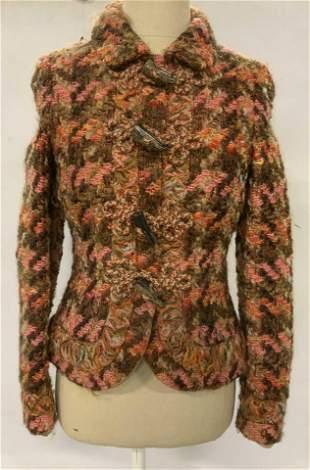 JOY PHILBIN RENA LANGE Wool & Silk Jacket