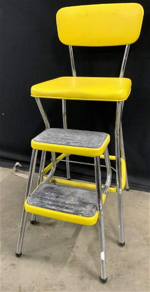 COSCO Vintage Step Stool Chair