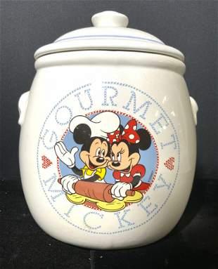REGIS PHILBIN MICKEY MOUSE Porcelain Cookie Jar