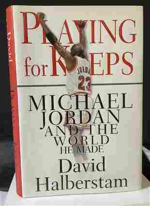 Signed Michael Jordan Biography to Regis Philbin