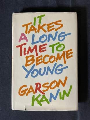 Signed Garson Kanin Book