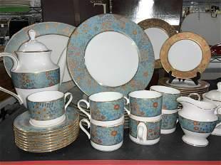 LENOX Gilded Tapestry Fine Bone Chinaware Set 63