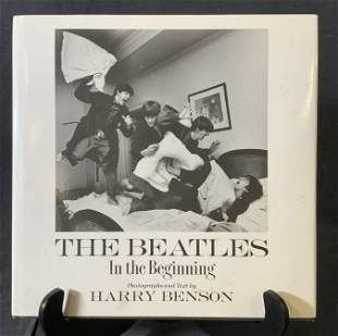 Signed Harry Benson The Beatles Book