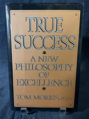Signed TOM MORRIS To REGIS PHILBIN, Book