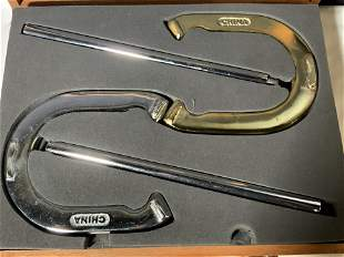 HORSESHOE GAME SET With Case & Original Packaging