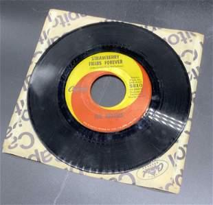 Vntg THE BEATLES Vinyl 45 Record, Penny Lane