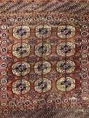 Vintage Handmade Caucasian Wool Rug
