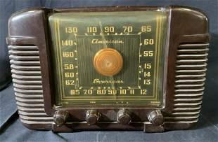Vintage 1946 CROSLEY 66TA Bakelite Radio