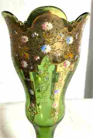 Venetian Glass Vase Vessel Centerpiece