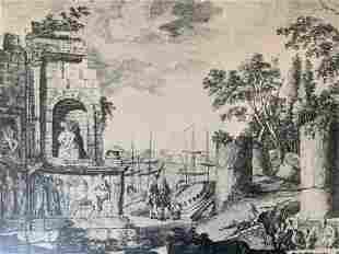ROBERT SAYER Lithograph of Athens