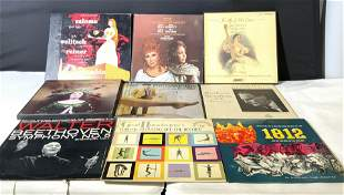 20 Assorted Vntg Vinyl Records, Beethoven & More
